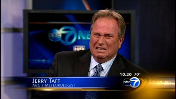 Jerry Taft gets giggles on air