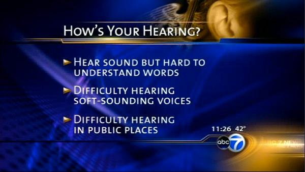 How's your hearing?