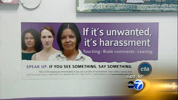 CTA to riders: report sexual harassment