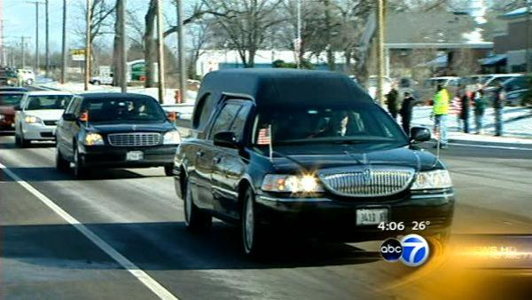 Funeral held for fallen soldier