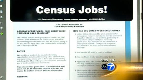 2010 census to provide 100K jobs in Illinois