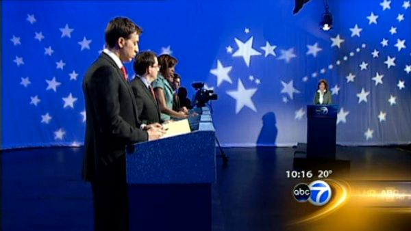 Dem. U.S. Senate candidates debate on ABC7