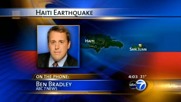 ABC7's Ben Bradley reports from San Juan, PR