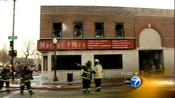 Fire destroys several small Bronzeville businesses