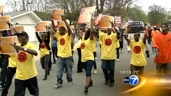 March to stop violence held in Chicago