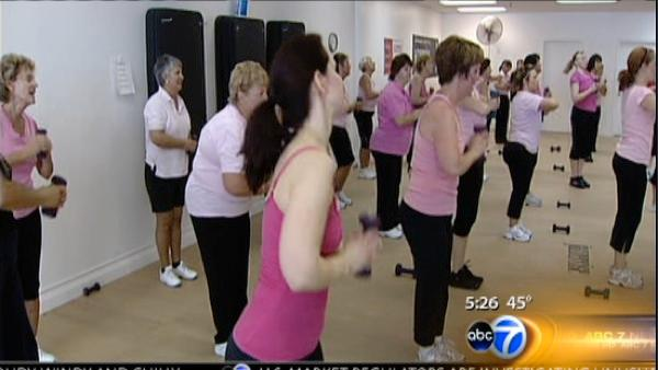 Jazzercise benefits breast cancer survivors