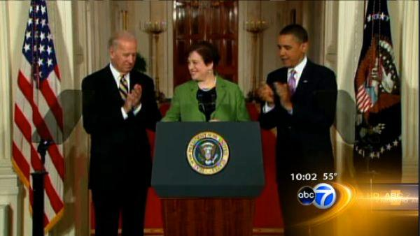 Kagan's family, colleagues react to nomination