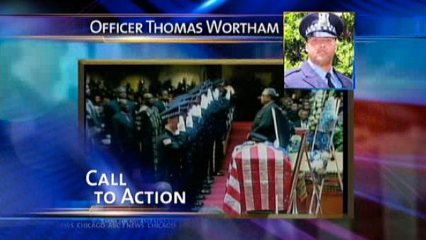 Funeral held for Chicago officer
