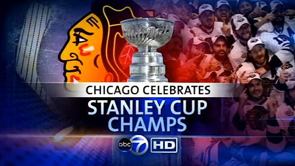 Part 1 of ABC7's Blackhawks Victory Parade Coverage