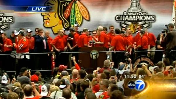 Part 9 of ABC7's Blackhawks Victory Parade Coverage