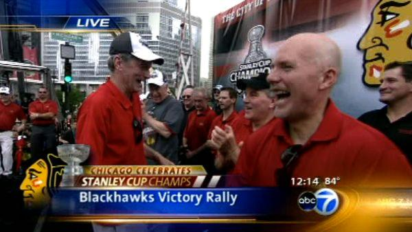 Part 10 of ABC7's Blackhawks Victory Parade Coverage