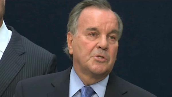 Video of Mayor Daley announcing decision not to run