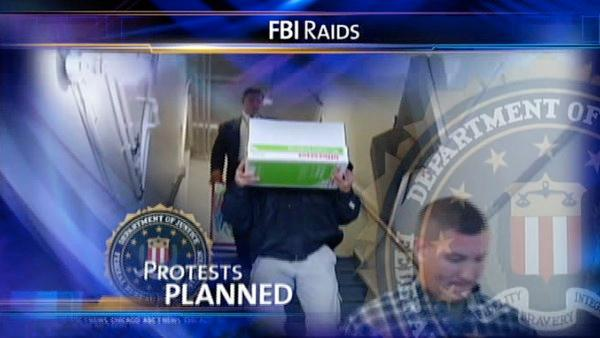 Activists against FBI raids to rally in coming week