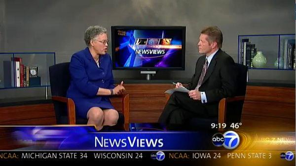 NewsViews: Toni Preckwinkle, Chicago County Board president nominee