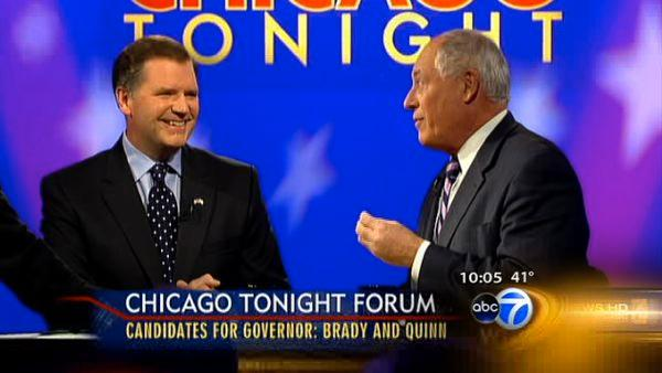 Brady, Quinn clash in final debate before election