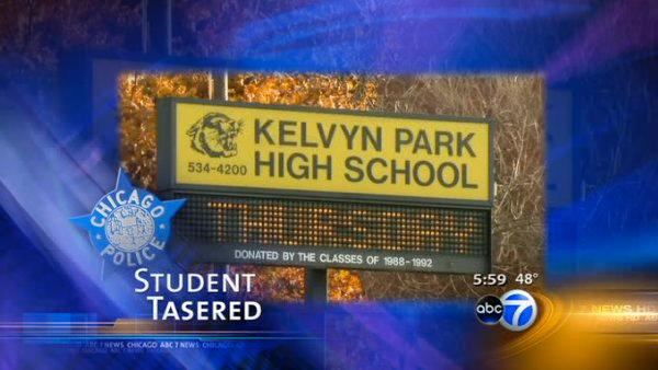 Student Tasered at Northwest Side high school