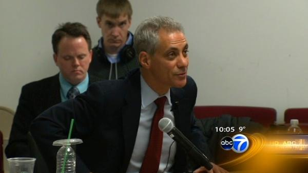 Emanuel questioned during 12-hour hearing