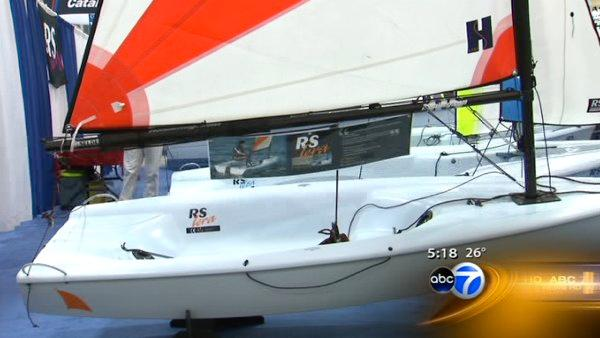 'Green' sailing showcased at Navy Pier