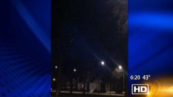 UFO sighting in Chicago?