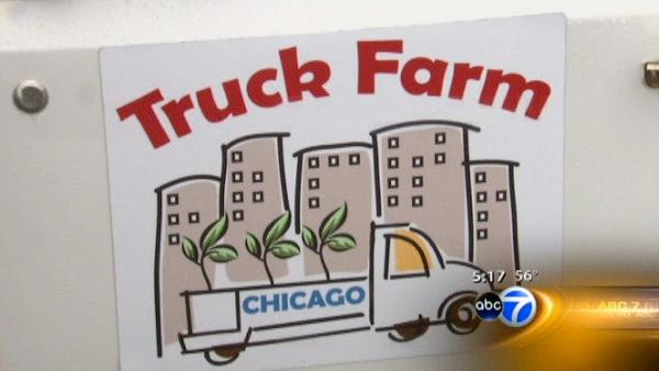 'Truck Farm' teaches kids about food