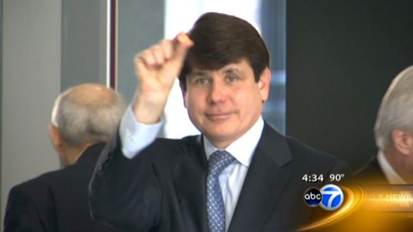 blagojevich trial. tape in Blagojevich trial