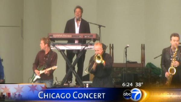 ABC7 goes behind the scenes with band 'Chicago'