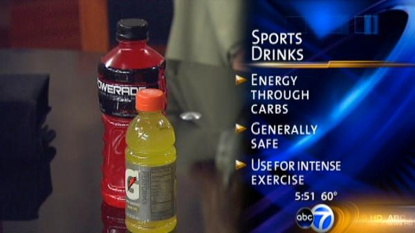 For Your Family: Sports vs. Energy Drinks