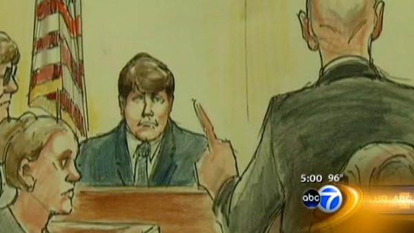 Blagojevich steps down from stand after 7 days