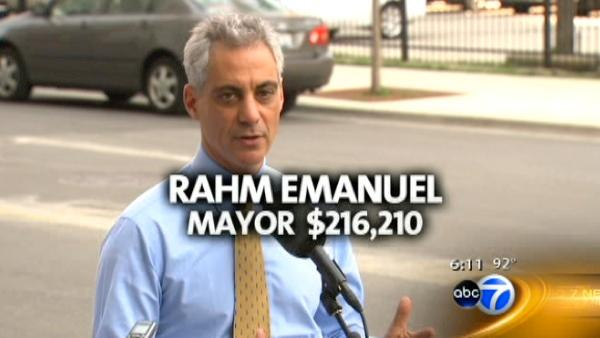 The highest paid city workers in Chicago