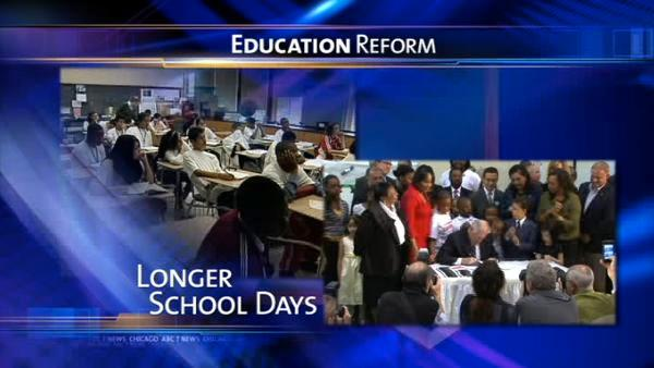 Quinn signs education reform bill into law