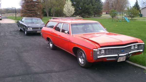 Chuck Friedlander's 1969 Chevy Kingswood Wagon