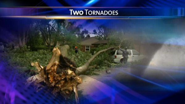 2 tornadoes confirmed in Chicago suburbs
