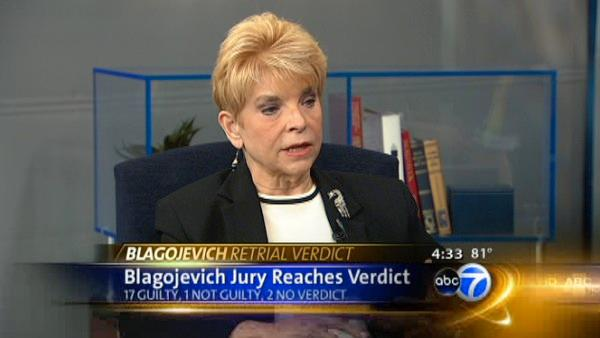 Topinka reacts to Blagojevich guilty counts