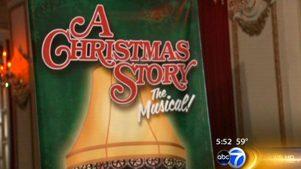 'A Christmas Story' musical to go up on Chicago stage