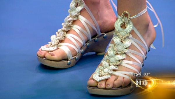 Unique summer sandals