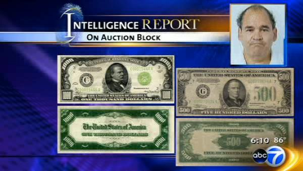 Mobster's hidden treasure up for sale