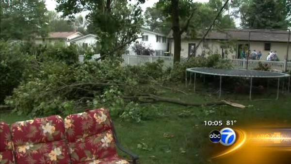 2 west suburbs declared disaster areas after storms