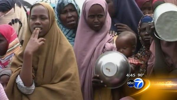 Chicago Muslims helping Somalia during Ramadan