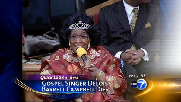 Gospel singer Delois Barrett Campbell dead at 85