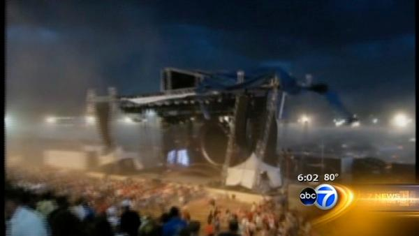 Structural error to blame in Indiana stage collapse?