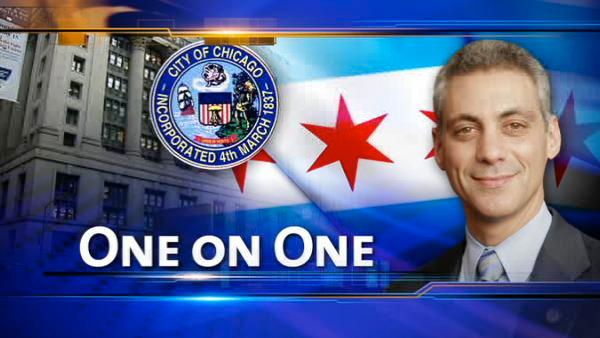 Emanuel reflects on first 100 days as mayor