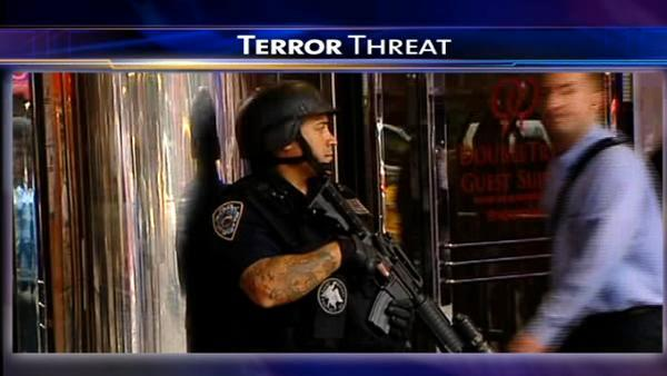 NYC on edge; No credible threat to Chicago