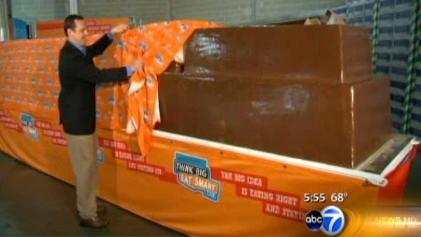 Sneak Preview: World's Largest Chocolate Bar