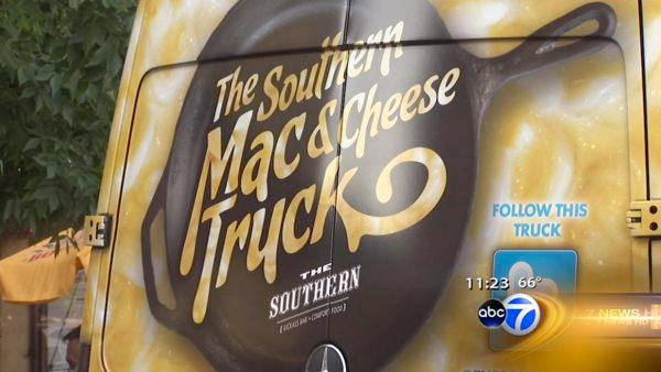 The Southern's Mac and Cheese truck, offers three fl