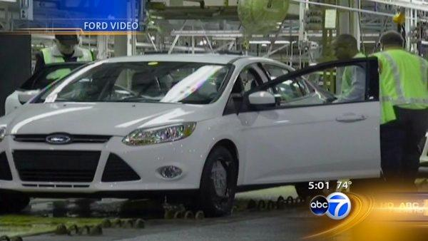 Ford to bring 1,100 jobs to Chicago, mayor says