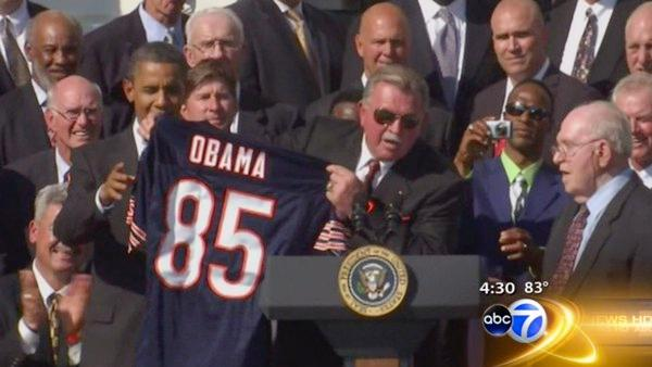 1985 Bears visit White House