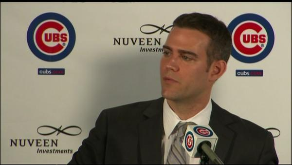 Theo Epstein introduced as Cubs president