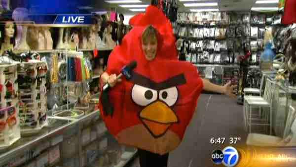 Angry Birds, Steve Jobs among top Halloween costumes