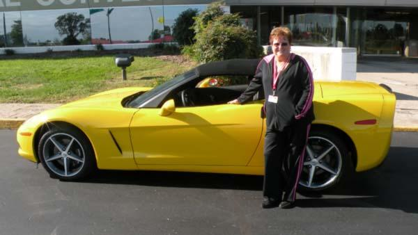 Emma Oakes' Dream Corvette Convertible