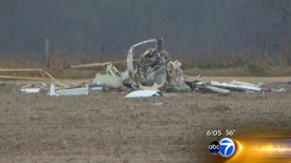 Plane crash in Crystal Lake kills 4